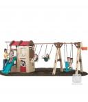 Naturally Playful® seiklusonni ja kiik-laevaga mängukeskus