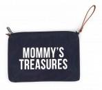 Childhome üleõlakott Mommy Treasures sinine/valge