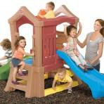 Topeltliumäega mängukeskus Play Up Double Slide Climber™