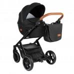 Petite&Mars jalutuskäru Rover 2in1 Black