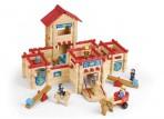 Vilac JeuJura puidust kindluse ehitamise komplekt