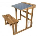 Vilac JeuJura puidust koolilaud-tahvel