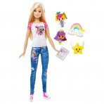 BARBIE Video Game Hero nukk lisadega