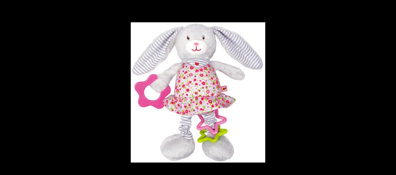 Baby Charms kangast aktiivsus mänguasi Jänes