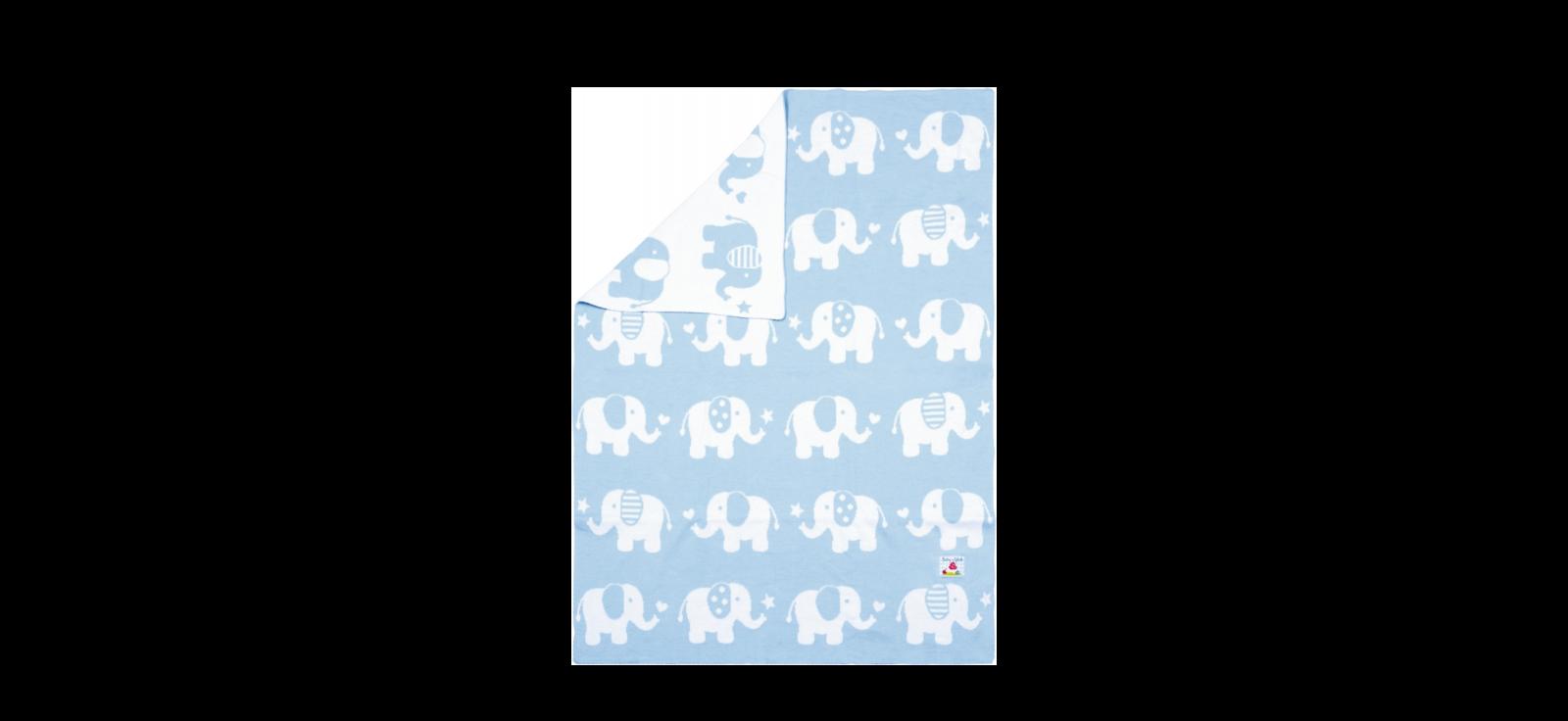 Baby Charms beebitekk sinine Elevandid