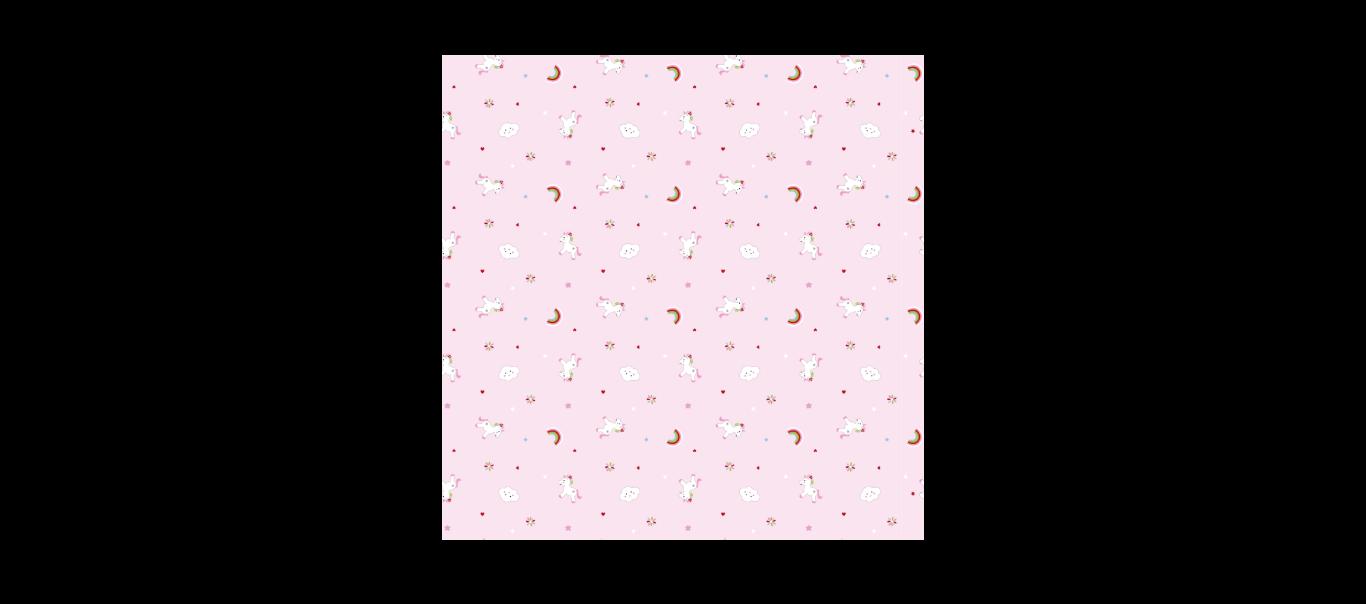 Baby Charms marlilapp Ükssarv 120x120cm