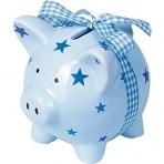 Baby Charms Minu esimene rahakassa - sinine notsu