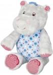 Baby Charms pehme muusikaline mänguasi Hippo sinine