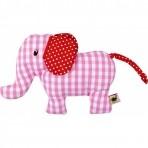 Baby Charms kõristi - elevant-roosa