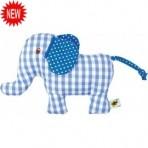 Baby Charms kõristi - elevant-sinine