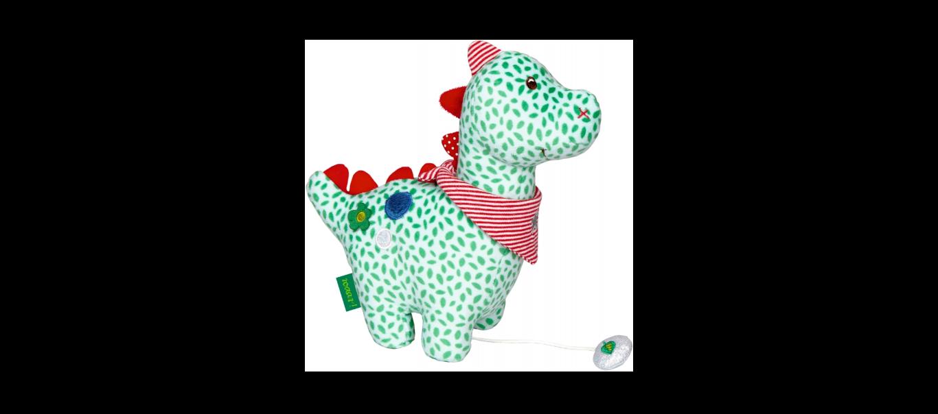 Baby Charms pehme muusikaline lelu Dino
