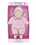 Baby Charms pehme nukk roosa 16cm