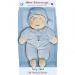 Baby Charms pehme nukk sinine 16cm