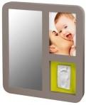 Baby Art pildiraam mälestusjälg Peegel Print taupe