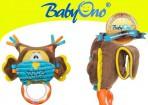 Babyono käru-autoistme mänguasi närimisrõngas Öökull LÕPUMÜÜK -30%