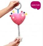 BabyOno pehme muusikalne mänguasi Hällulaulu süda