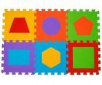 BabyOno puzzlematt kujundid 6-osa