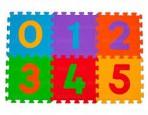 BabyOno puzzlematt numbrid 6-osa