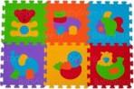 BabyOno puzzlematt loomad 6-osa