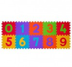 BabyOno puzzlematt numbrid 10-osa