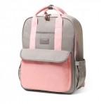 BabyOno mähkme-seljakott London Look Pink