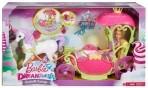Barbie Dreamtopia Disney Tuhkatriinu nukk hobuse ja kaarikuga