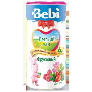 BEBI puuviljatee alates 4 eluk. 6x200 g