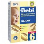 Bebi riisipuder piima ja banaaniga al 6 eluk. 6x250g