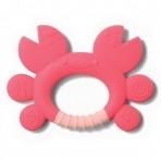 BabyOno närimisrõngas Krabi roosa