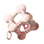 BabyOno arendav mänguasi Kuubik roosa