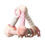 BabyOno arendav mänguasi Püramiid roosa