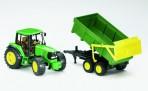 Bruder John Deere 6920 traktor treileriga
