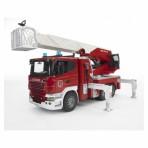 Bruder Scania tuletõrjeauto heli ja valgusega