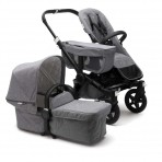 Bugaboo Donkey2 vankrikomplekt  Mono Classic Collection Black/Grey Melange