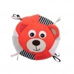 Canpol sensoorne pehme pall kellukesega Bears roosa
