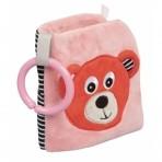 Canpol  pehme arendav raamat Bears roosa