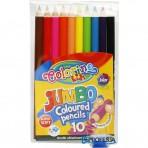 Colorino Kids värvipliiatsid Jumbo 10tk