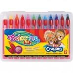 ColorinoKids laste näokriidid 12tk