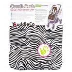 CuddleCo Comfi-Cush jalutuskäru istmekate Zebra