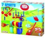 Ecoiffier 7in1 õuemängud