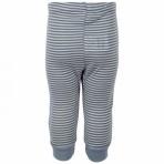 Fixoni Joy LS Pant Dusty siidivillased beebi püksid sinine/triip