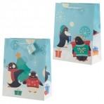 GB suur kinkekott jõuludeks Pingviin