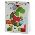 GB suur kinkekott jõuludeks Dinosaurus