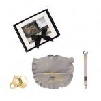 Bjällra kinkepakk- pudipõll, lutikett, lutt Grey Golden