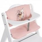 HAUCK Highchair istmepadi Deluxe roosa