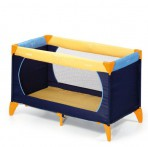 Hauck reisivoodi Dream n Play yellow/blue/navy
