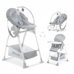 Hauck söögitool-lamamistool Sit N Relax 3 in 1  Stretch Grey