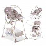 Hauck söögitool-lamamistool Sit N Relax 3 in 1  Stretch Beige