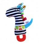 Hencz Toys pehme mänguasi närimisrõngaga Kaelkirjak