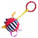 Hencz Toys riputatav mänguasi Punane pall
